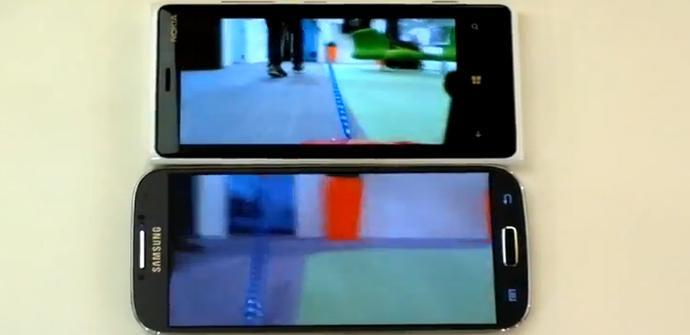 Nokia Lumia 920 y Samsung Galaxy S4 enfrentados en vídeo