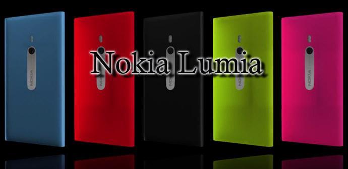 Nokia Lumia de colores