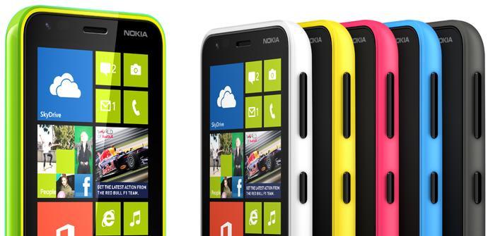Actualización de software para tres Nokia Lumia, 920, 820 y 620