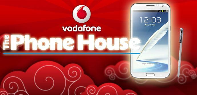 Samsung Galaxy Note 2 y Vodafone en The Phone House