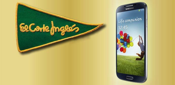 Samsung Galaxy S4 y El Corte Inglés