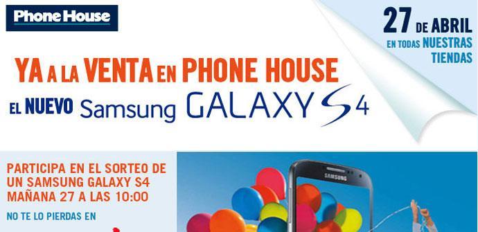 Sorteo de tres Samsung Galaxy S4