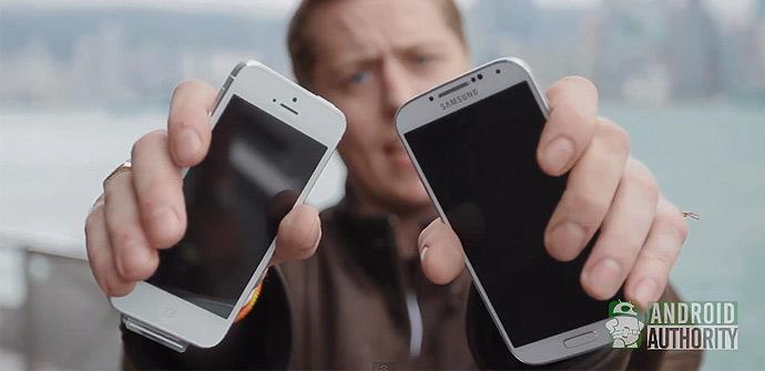 Test de resistencia del Samsung Galaxy S4