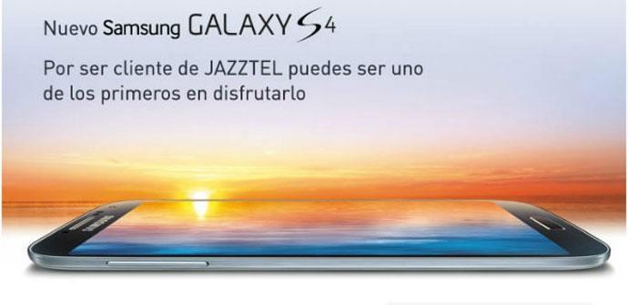 Samsung Galaxy S4 con Jazztel