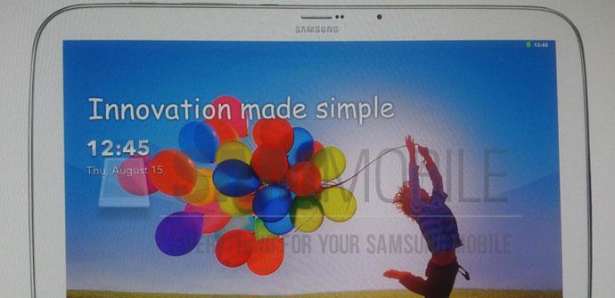 Diseño de la tableta Samsung Galaxy Tab 3
