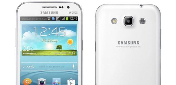 Primeras imágenes del Samsung Galaxy Win