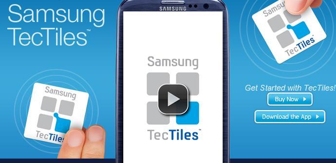 TecTiles en el Galaxy S4