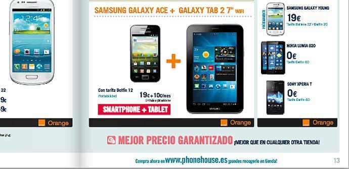 "Oferta en TPH para Samsung Galaxy Ace y Galaxy Tab 2 7"""