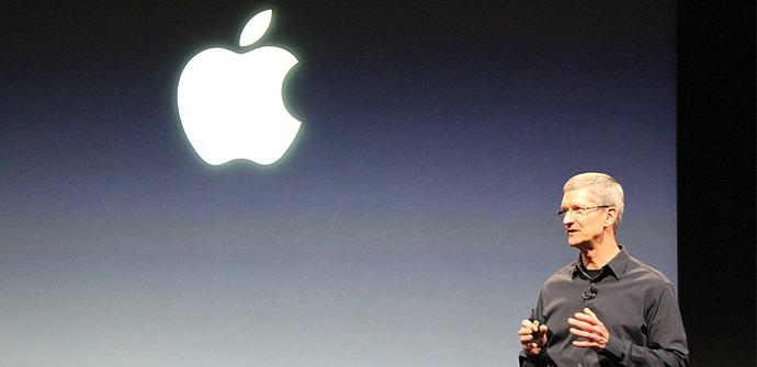 Conferencia de prensa de Apple con Tim Cook