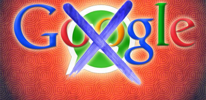 Logos WhatsApp y Google