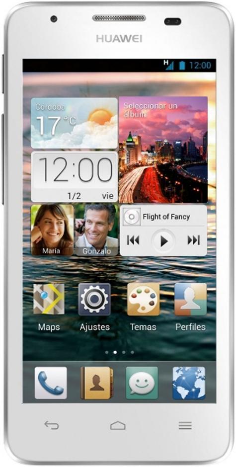 Huawei G510 en color blanco