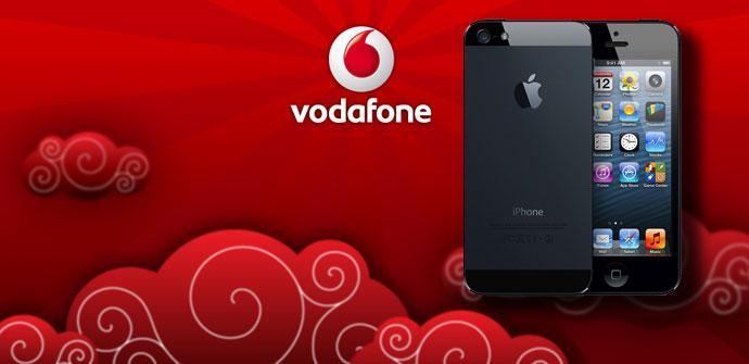 iPhone 5 con Vodafone