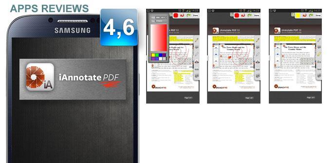 Aplicación iAnnotate PDF