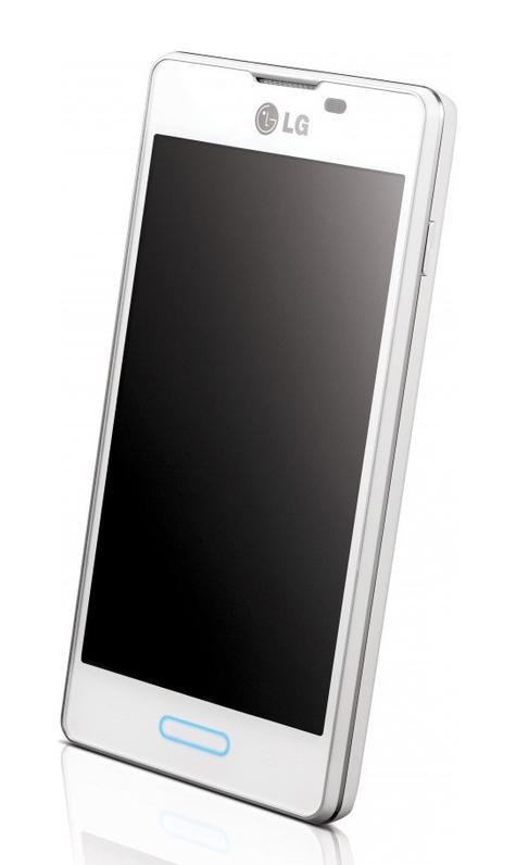 LG Optimus L5 II vista lateral