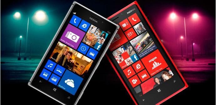 Comparativa de Nokia Lumia 925 y Nokia Lumia 920