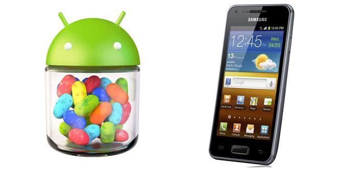 Ya está disponible la actualización de Jelly Bean para Samsung Galaxy S Advance en Europa.