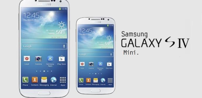 Samsung ha dado a conocer algunos datos del Galaxy S4 mini.
