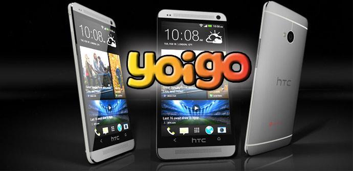 HTC One con Yoigo