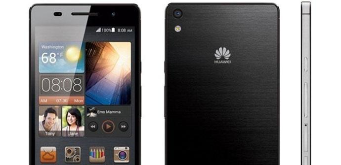Se filtran nuevas imágenes del Huawei P6.