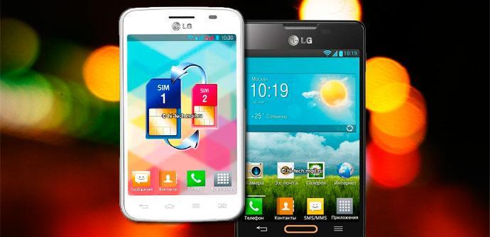Filtración del LG Optimus L4
