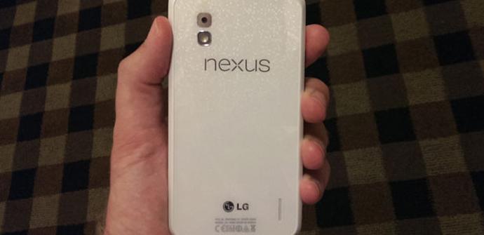 Nexus 4 blanco podría salir a la venta el 10 de junio.