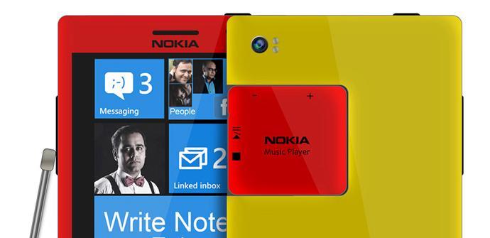 Concepto de Nokia Phablet