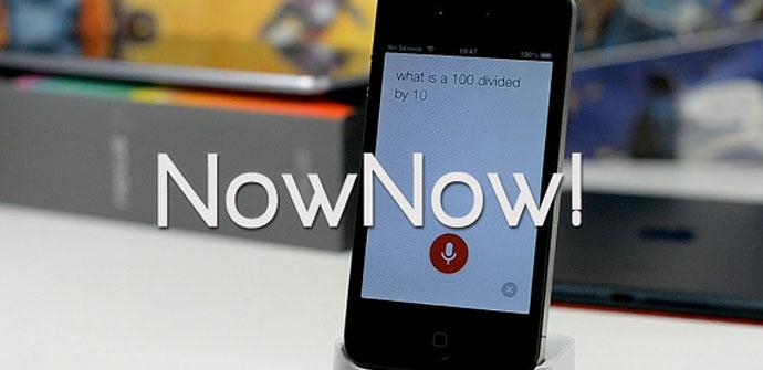 Modificación para iPhone 5 llamado NowNow