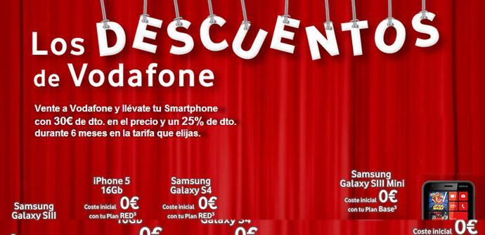 Descuentos de Vodafone