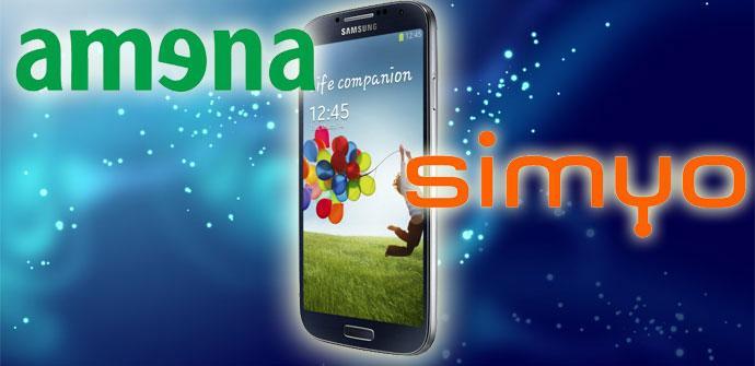Samsung Galaxy S4 con Amena y Simyo