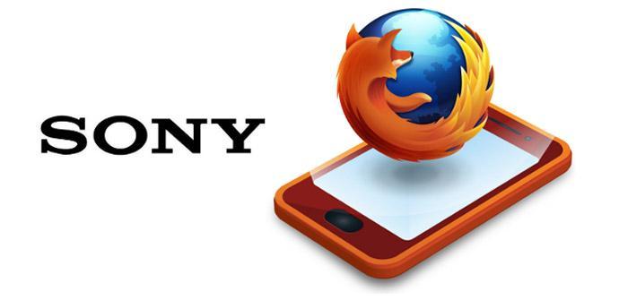 Sony lanzará smartphones premium con Firefox OS.