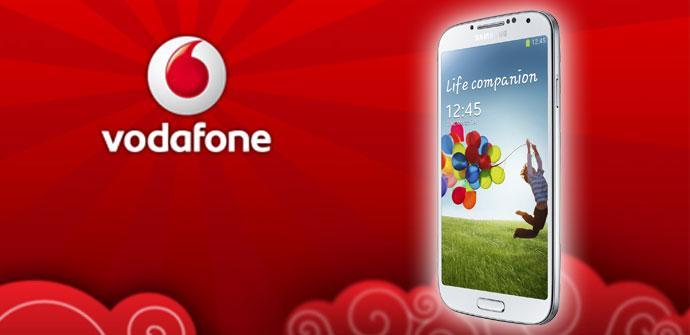 Samsung Galaxy S4 en blanco con Vodafone