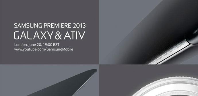 Posible evento de presentación del Samsung Galaxy S4 Mini