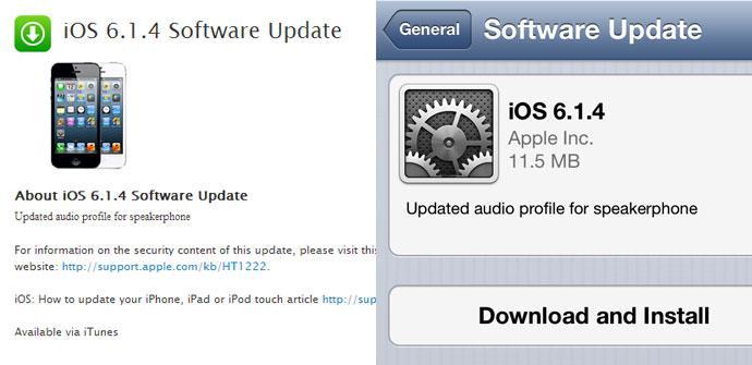 OTA para iPhone 5