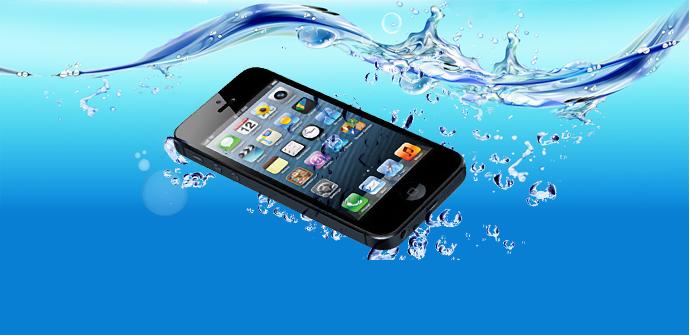 iphone 5 agua
