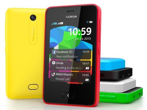 Nokia Asha 501 en varios colores