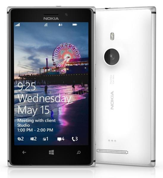 Nokia Lumia 925 frontal y trasera