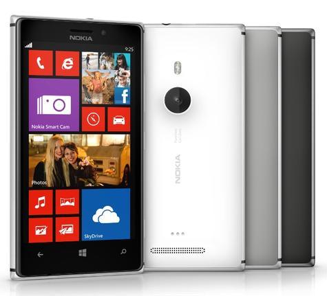 Nokia Lumia 925 en varios colores