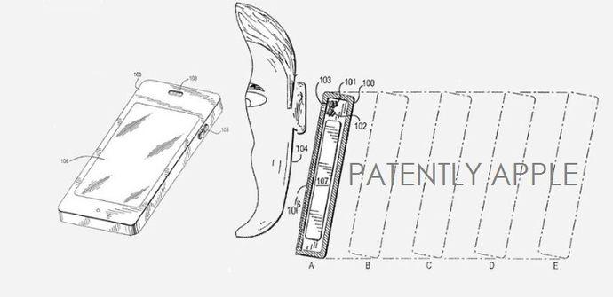 patente volumen dinamico iPhone 5s