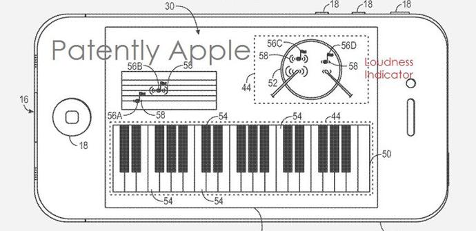 patente iphone 6 pantalla sensible