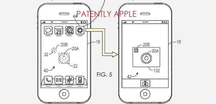 patente iphone 6 pantalla transparente