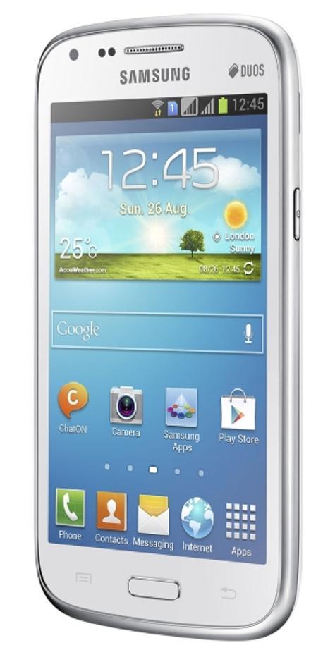 Samsung Galaxy Core blanco