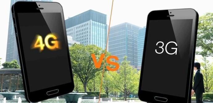 Comparativa 4G vs 3G