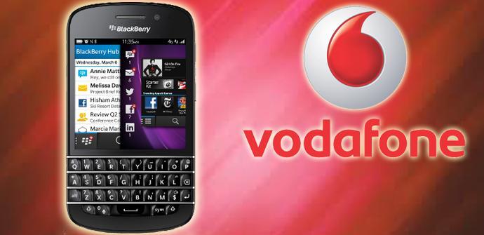 BlackBerry Q10 llega a España con Vodafone.