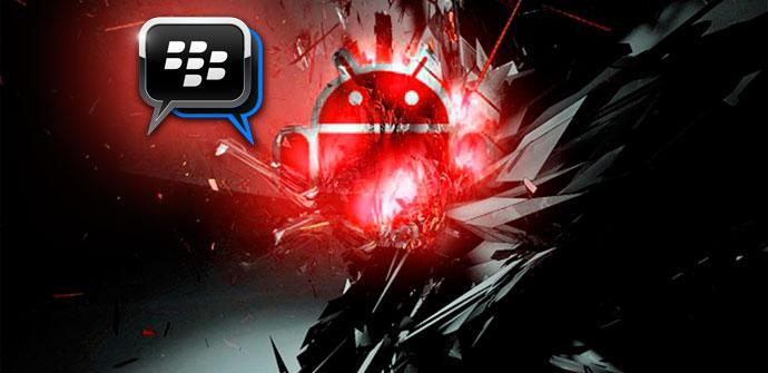 BlackBerry Messenger en smartphones Android
