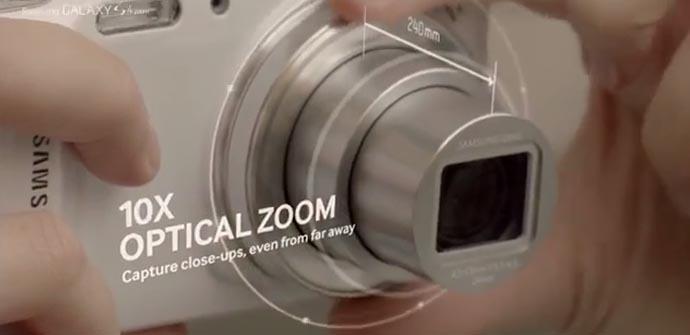 Samsung muestra las capacidades del Galaxy S4 Zoom en un vídeo.