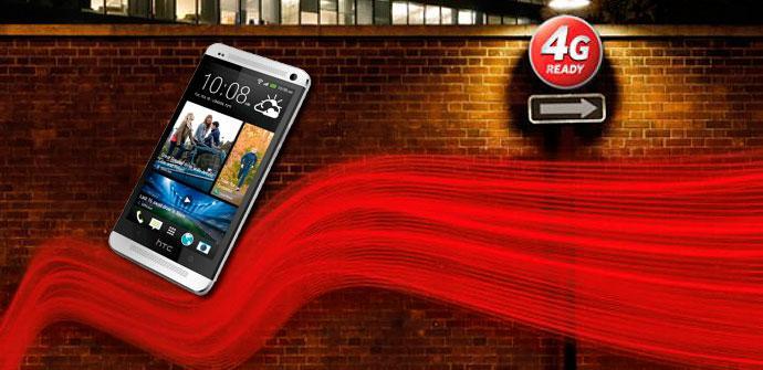 HTC One 4G de Vodafone