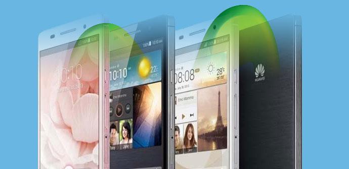 Huawei P6 con logotipo de Movistar