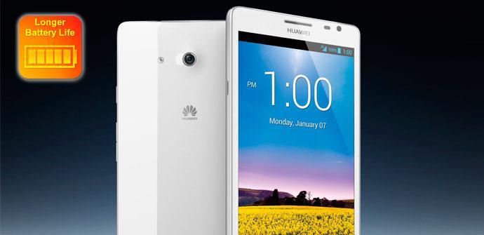Test de batería del Huawei Ascend Mate
