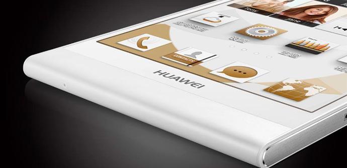 Huawei Ascend P6 con interfaz Emotion