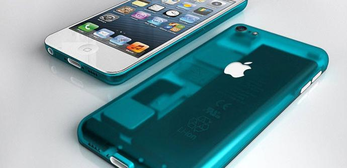 El iPhone mini vendría en cinco colores distintos.